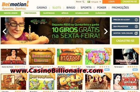 Cassino jon bingo club betmotion - 722134