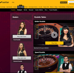 Betfair cassino casinos ezugi Áustria - 793446