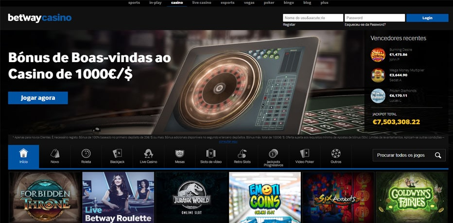 Betway casino supergol apostas online - 777404