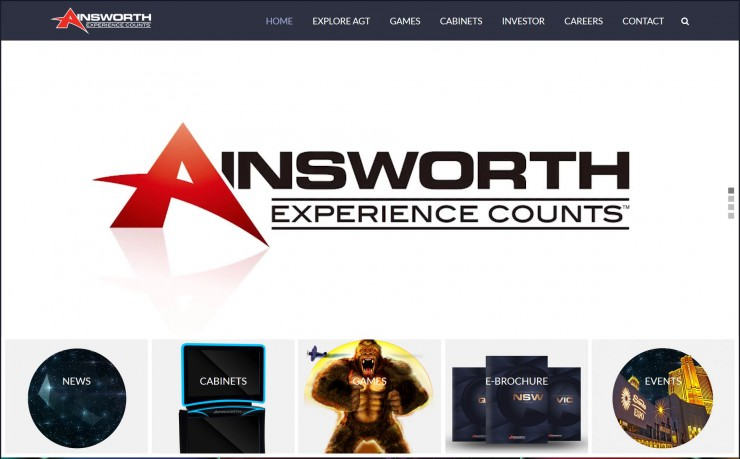 Casinos ainsworth Brasil blacklisted - 71511
